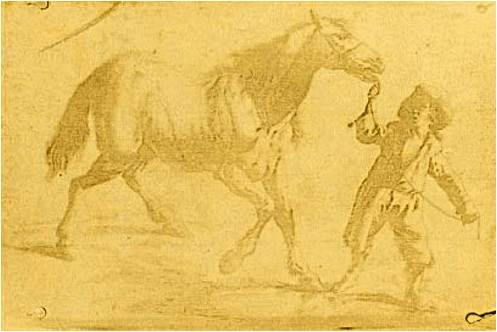 Heliogravure image by Nicephore Niépce